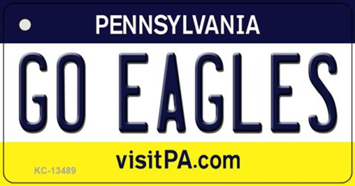 Go Eagles Wholesale Novelty Metal Key Chain KC-13489