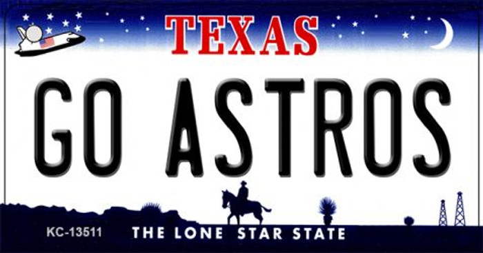 Go Astros Wholesale Novelty Metal Key Chain KC-13511