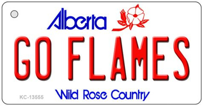 Go Flames Wholesale Novelty Metal Key Chain KC-13555