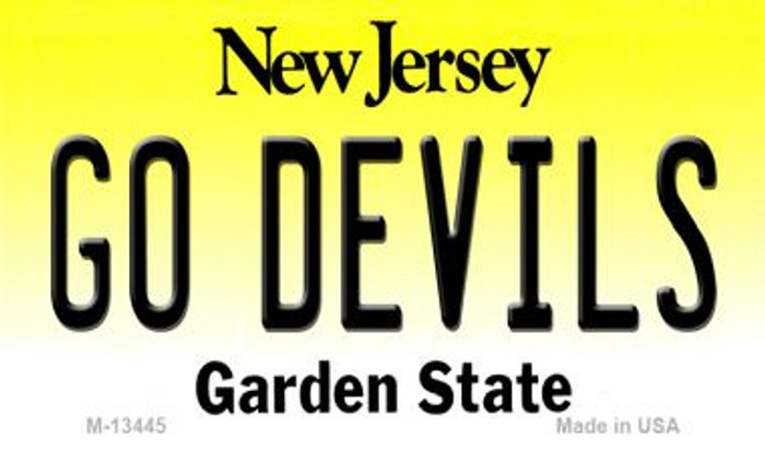 Go Devils Wholesale Novelty Metal Magnet M-13445