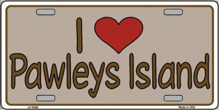 Love Pawleys Island Wholesale Metal Novelty License Plate LP-5339