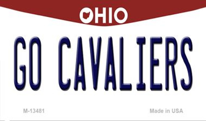 Go Cavaliers Wholesale Novelty Metal Magnet M-13481
