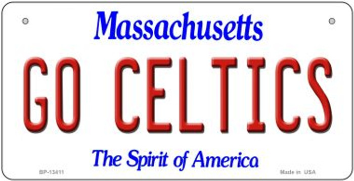 Go Celtics Wholesale Novelty Metal Bicycle Plate BP-13411