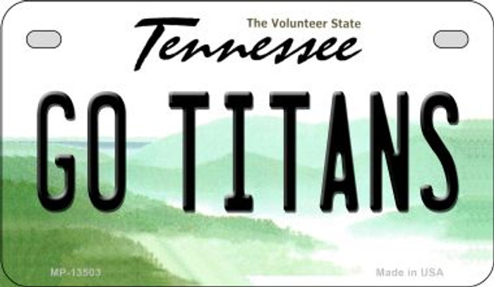 Go Titans Wholesale Novelty Metal Motorcycle Plate MP-13503