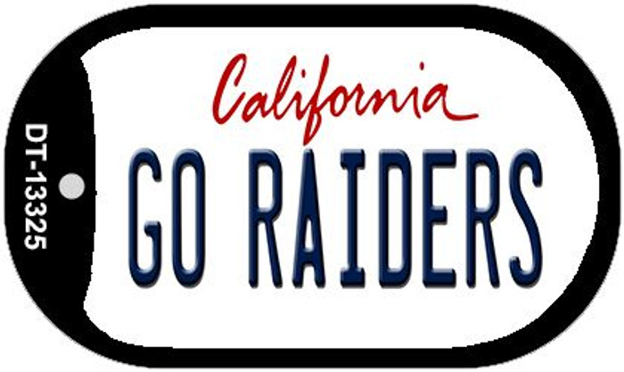 Go Raiders Wholesale Novelty Metal Dog Tag Necklace DT-13325
