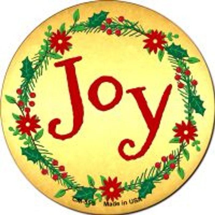 Joy Wholesale Novelty Metal Mini Circle Magnet CM-559