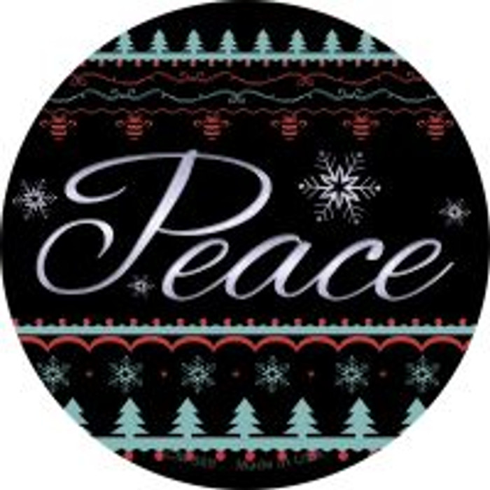 Peace Wholesale Novelty Metal Mini Circle Magnet CM-569