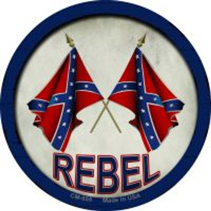Rebel Wholesale Novelty Metal Mini Circle Magnet CM-655