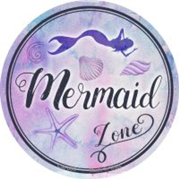 Mermaid Zone Wholesale Novelty Metal Mini Circle Magnet CM-886