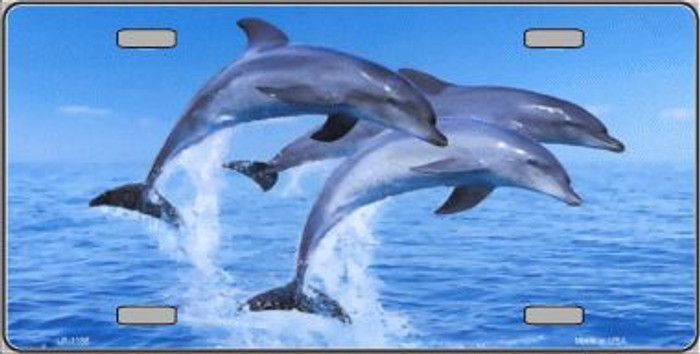 Dolphins Novelty Wholesale Metal License Plate LP-1186