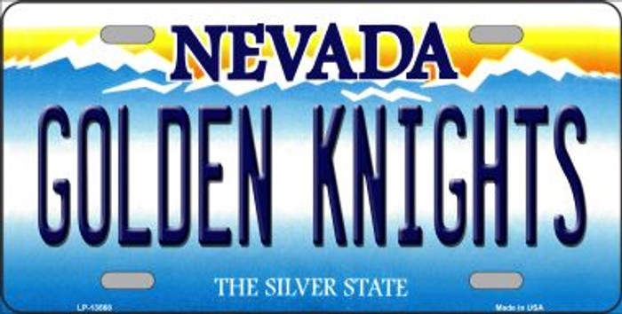 Golden Knights Wholesale Novelty Metal License Plate Tag LP-13568