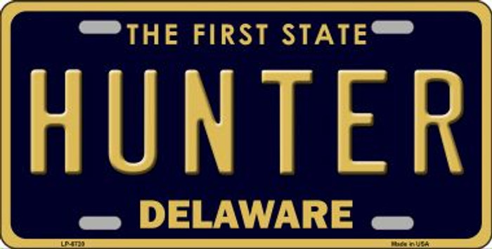 Hunter Delaware Novelty Wholesale Metal License Plate LP-6720