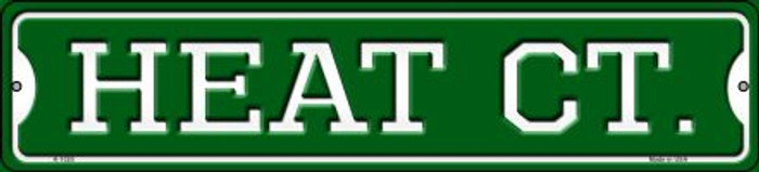 Heat Ct Wholesale Novelty Small Metal Street Sign K-1020