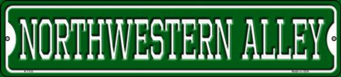 Northwestern Alley Wholesale Novelty Small Metal Street Sign K-1102