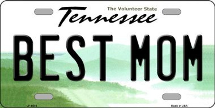 Best Mom Tennessee Novelty Wholesale Metal License Plate