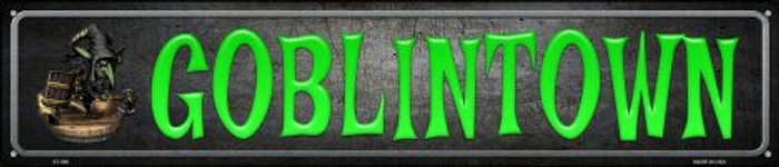 Goblintown Wholesale Novelty Metal Street Sign ST-490