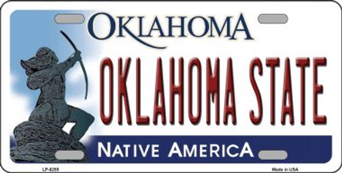 Oklahoma State Novelty Wholesale Metal License Plate LP-6255