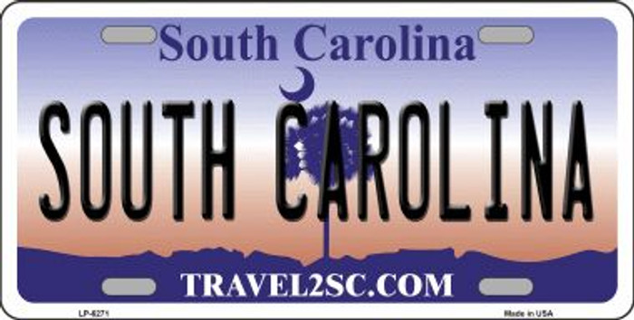South Carolina Novelty Wholesale Metal License Plate LP-6271