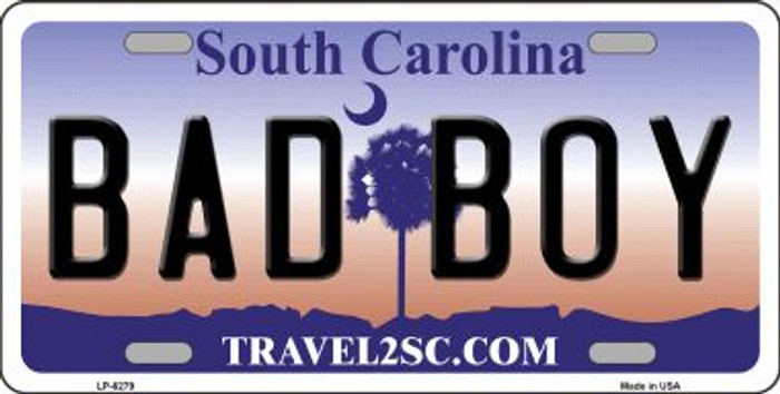 Bad Boy South Carolina Novelty Wholesale Metal License Plate LP-6279