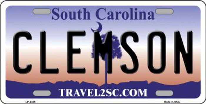 Clemson South Carolina Novelty Wholesale Metal License Plate LP-6305