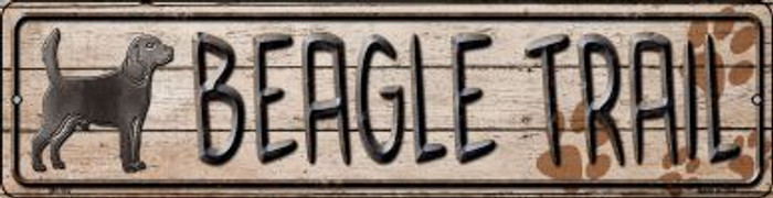 Beagle Trail Wholesale Novelty Mini Metal Street Sign MK-452