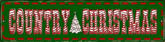 Country Christmas Wholesale Novelty Mini Metal Street Sign MK-598