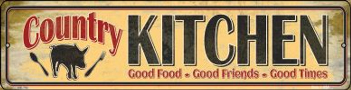 Country Kitchen Wholesale Novelty Mini Metal Street Sign MK-790