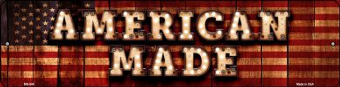 American Made Wholesale Novelty Mini Metal Street Sign MK-846