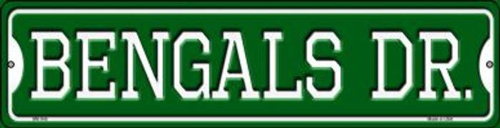 Bengals Dr Wholesale Novelty Mini Metal Street Sign MK-945