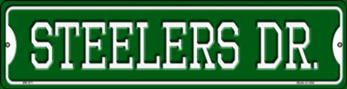 Steelers Dr Wholesale Novelty Mini Metal Street Sign MK-971
