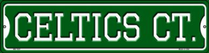 Celtics Ct Wholesale Novelty Mini Metal Street Sign MK-1007