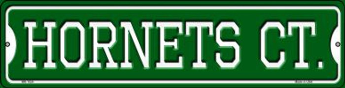 Hornets Ct Wholesale Novelty Mini Metal Street Sign MK-1024