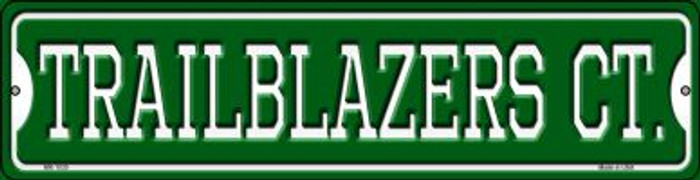 Trailblazers Ct Wholesale Novelty Mini Metal Street Sign MK-1030