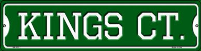 Kings Ct Wholesale Novelty Mini Metal Street Sign MK-1031