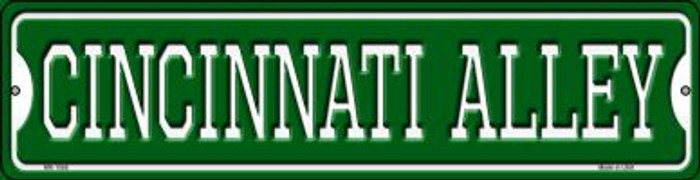 Cincinnati Alley Wholesale Novelty Mini Metal Street Sign MK-1068