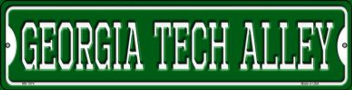 Georgia Tech Alley Wholesale Novelty Mini Metal Street Sign MK-1074