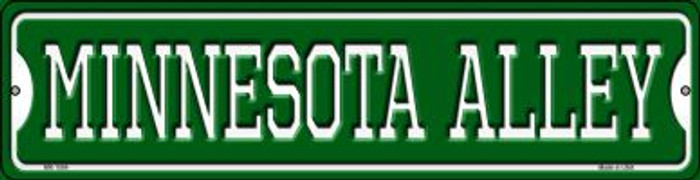 Minnesota Alley Wholesale Novelty Mini Metal Street Sign MK-1084