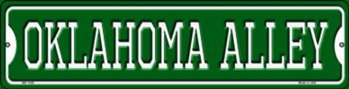 Oklahoma Alley Wholesale Novelty Mini Metal Street Sign MK-1088