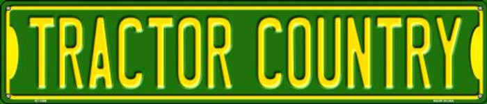 Tractor Country Wholesale Novelty Metal Street Sign ST-1408