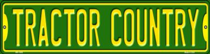Tractor Country Wholesale Novelty Mini Metal Street Sign MK-1408