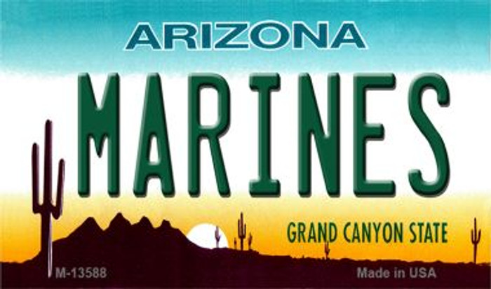 Marines Arizona Wholesale Novelty Metal Magnet M-13588