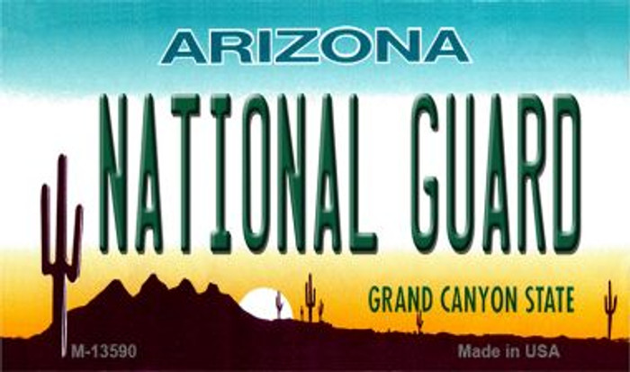 National Guard Arizona Wholesale Novelty Metal Magnet M-13590