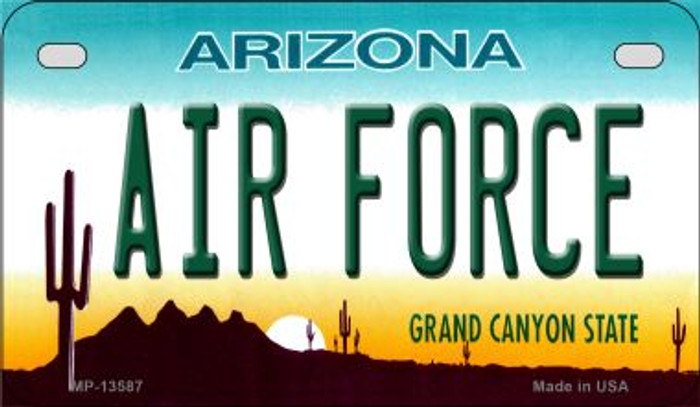 Air Force Arizona Wholesale Novelty Metal Motorcycle Plate MP-13587