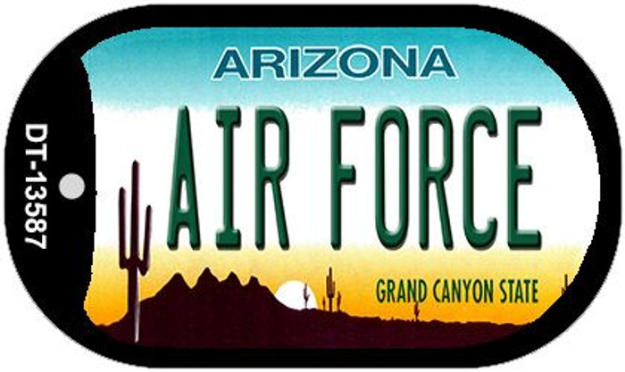 Air Force Arizona Wholesale Novelty Metal Dog Tag Necklace DT-13587