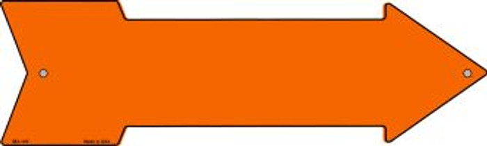 Orange Solid Wholesale Novelty Mini Metal Arrow MA-105