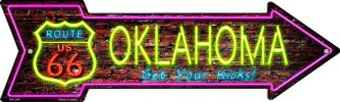 Oklahoma Wholesale Novelty Mini Metal Arrow MA-298
