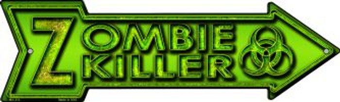Zombie Killer Wholesale Novelty Mini Metal Arrow MA-312