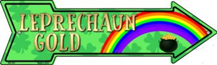 Leprechaun Gold Wholesale Novelty Mini Metal Arrow MA-364