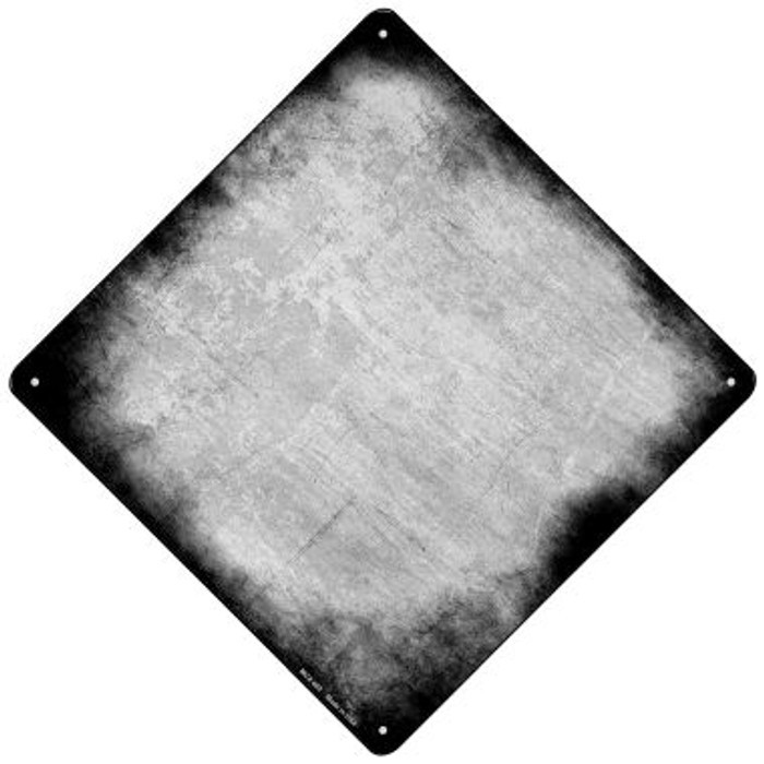Black Oil Rubbed Wholesale Novelty Mini Metal Crossing Sign MCX-002