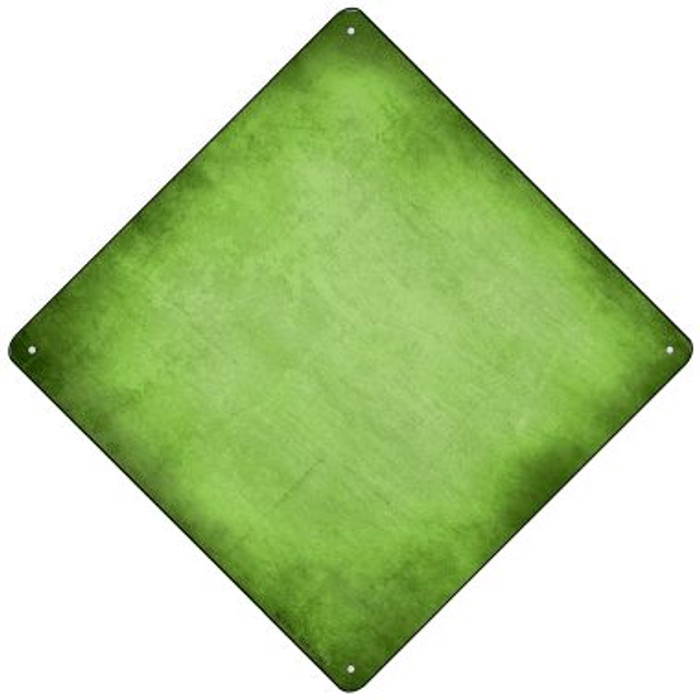 Lime Green Oil Rubbed Wholesale Novelty Mini Metal Crossing Sign MCX-013
